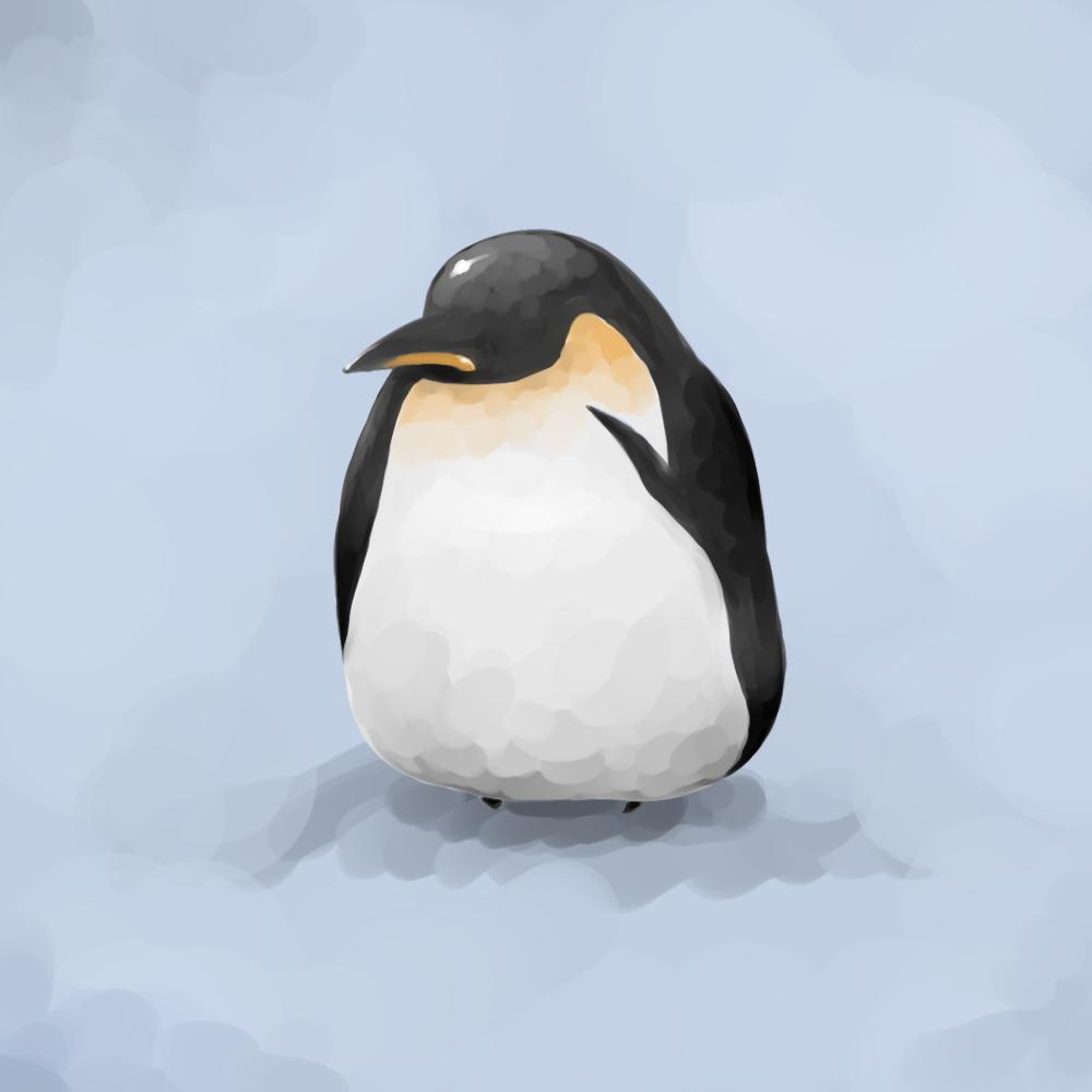 もこぺん 皇帝ペンギン